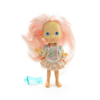 Moon Dreamers Blinky Doll Vintage Star Finders with Dress, Pink Glow in the Dark Hair