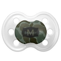 Personalized: Camo Pacifier