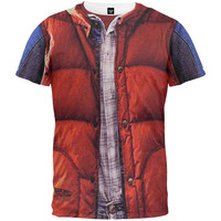 Back to the Future - McFly Vest Sublimation T-Shirt