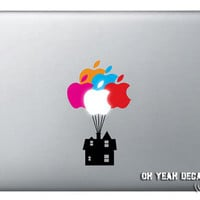 Up House Macbook macbook decal,Macbook Pro/Air/Ipad Stickers,Macbook Decals,Apple Decal for Macbook Pro / Macbook Air/laptop-078
