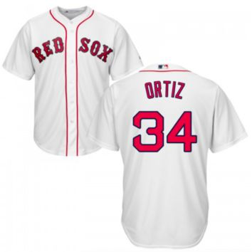 KUYOU Boston Red Sox Jersey -  David Ortiz