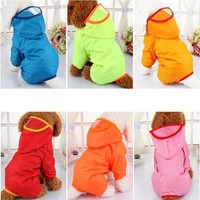 Waterproof Dog Puppy Raincoat Dog
