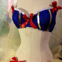 1014 SnowWhite w/ Tutu Set 32B costume Halloween escape rave festival