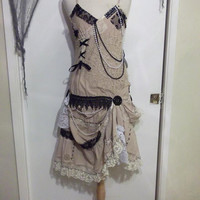 Pearl Doily Dress