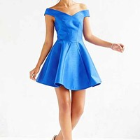 Cameo Your Song Dress- Blue
