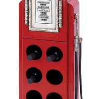 Harvey & Haley Gas Pump Wine Rack for Modern and Conventional Decor
