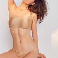 Somedays Lovin Sunspell One-Shoulder Bikini Top | Urban Outfitters