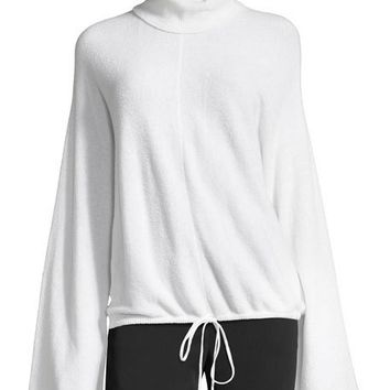 A.L.C. Hemingway Bell-Sleeve Wool-Blend Sweater