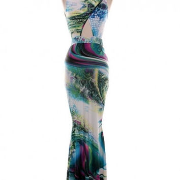 Mystic Isle Maxi Dress