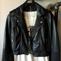 Obey Clothing | Obey - Caveat Leather Moto Jacket » West Of Camden
