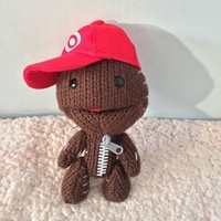 1pcs 16cm Little Big Planet Plush Toy Sackboy Cuddly Knitted Stuffed Doll Figure Toys Cute Kids Animal Comfort Doll