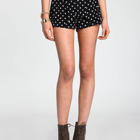 POLKA DOT BOW SHORTS