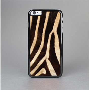 The Real Zebra Print Texture Skin-Sert for the Apple iPhone 6 Plus Skin-Sert Case
