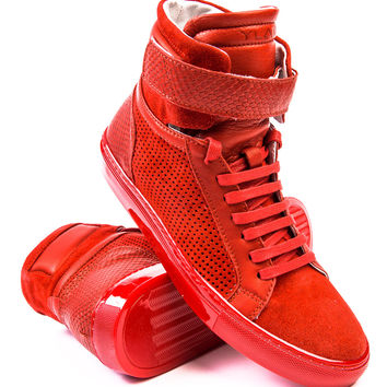 Ylati Amalfi High Top Red Sneaker