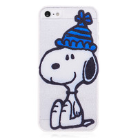 Snoopy Cartoon Hard Back for iPhone 5 & 5S