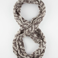 Nordic Infinity Scarf Grey One Size For Women 26438211501