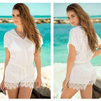 7880 Cover Up and Beach Romper