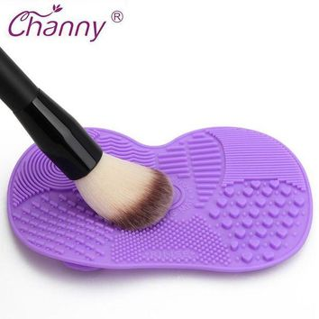 PEAPLO3 Silicone Brush Cleaner Mat Washing Tools for Cosmetic Make up Eyebrow Brushes Cleaning Pad Scrubber Board Makeup Cleaner