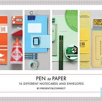 Pen to Paper Notecards (Stationery) (Card Book)
