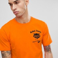 Only & Sons T-Shirt With Rebel Youth Front And Back Print at asos.com