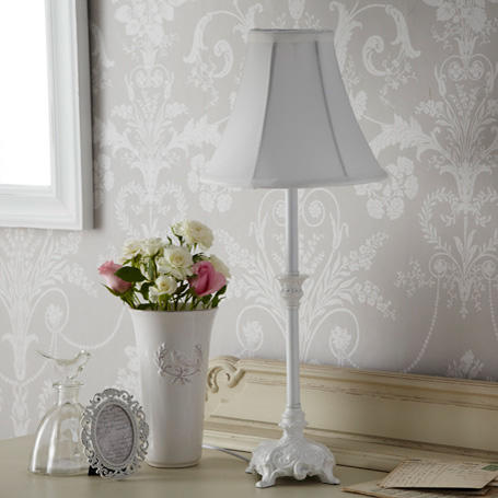 shabby chic table lamp from live laugh from live laugh love. Black Bedroom Furniture Sets. Home Design Ideas