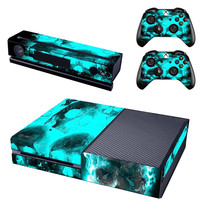 Glowing Skulls - Xbox One Protector