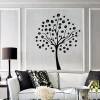 Wall Stickers Vinyl Decal Tree Branch Floral Decor For Living Room  (z2060)