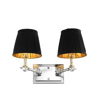 DOUBLE HEADED WALL LAMP   EICHHOLTZ WENTWORTH