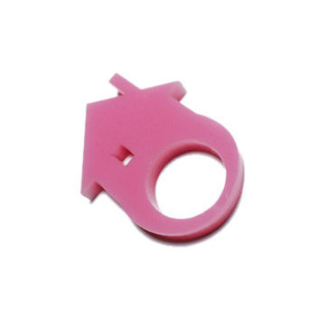 Little Pink House Ring
