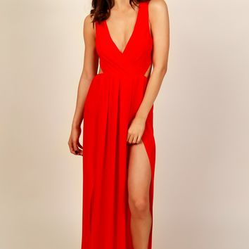 Poison Ivy Classic Gown Red
