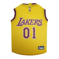Los Angeles Lakers Pet Jersey - XL