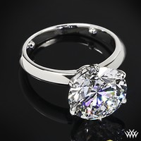 Classic Knife-Edge Solitaire Engagement Ring | 30402