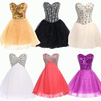 New Short Mini Formal Prom Dress Cocktail Ball Evening Party Dresses Homecoming