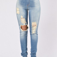 Paradise City Jeans - Medium Light Tint