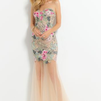 Floral Embroidered Lace Dress from Camille La Vie and Group USA