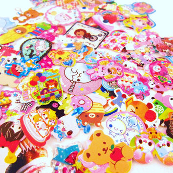 Kawaii Supply - STICKER FLAKES- 100 pieces