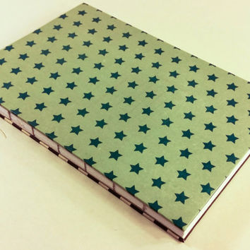 Stars and stripes blank journal with 80 pages 5.5X8.5
