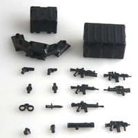 2016 new Military Series swat police 95 GUN weapons pack army weapon Brick Arms Weapon Pack For City Police Compatible With Lego