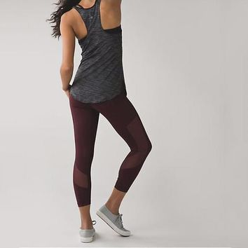 Lululemon Women Sport Yoga Leggings Pants Trousers-4