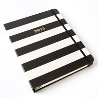 2015 Black Stripes 17-Month Weekly Agenda by Kate Spade New York - Calendars & Planners - Gifts