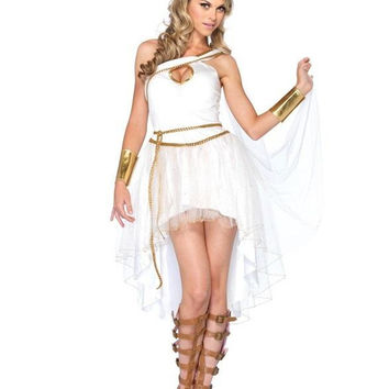 Goddess Sleeveless Costume Set