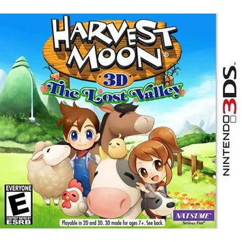 Harvest Moon 3D: The Lost Valley - Nintendo 3DS