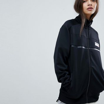 New Balance Track Jacket In Black at asos.com