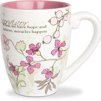 Survivor.. When we have hope and believe, miracles happen Mug