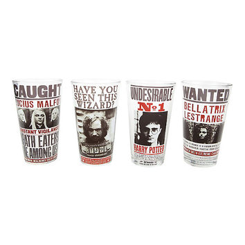 Harry Potter Undesireables Pint Glass Set