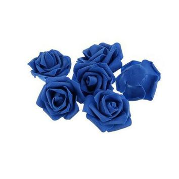ac NOOW2 10pcs/ Pack Table centerpieces Diameter 6-7 Cm Artificial Foam Roses Flower Heads For Home Party Wedding Decorations
