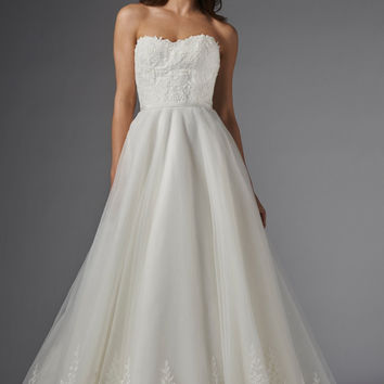 Wtoo by Watters Cynthia 15707 Lace A-Line Wedding Dress