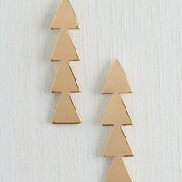 ModCloth Minimal Know the Way Earrings