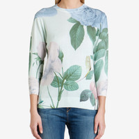 Distinguishing rose sweater - Mint | Sweaters | Ted Baker