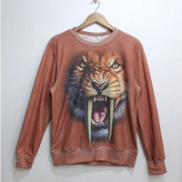Lovely tigers fleece